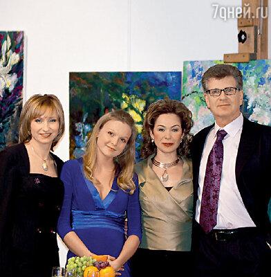 Ольга Прокофьева, Елена Великанова, Татьяна Аугшкап и Игорь Костолевский