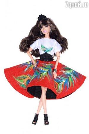 Кукла Барби в наряде от ALEXANDER ARUTYUNOV