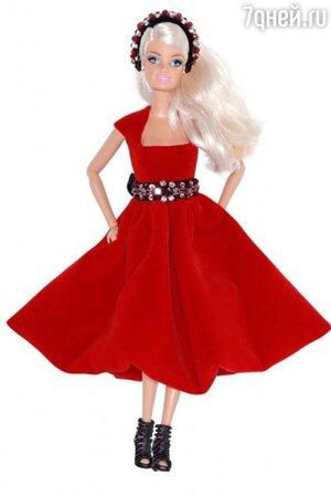 Кукла Барби в наряде от LUBLU Kira Plastinina