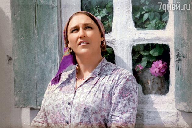 Нонна Мордюкова в фильме «Они сражались за родину». 1975 г.