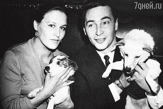 Нонна Мордюкова и Вячеслав Тихонов. 1960