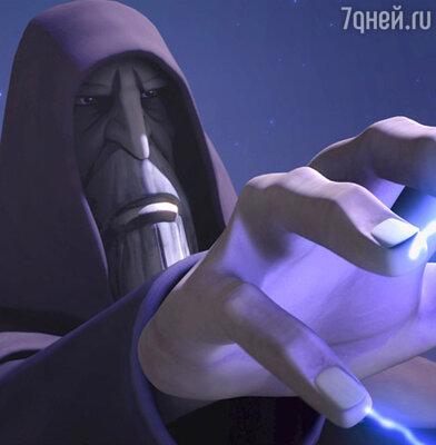 Кадр из мультфильма «Войны клонов»