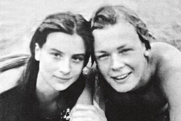 Екатерина и Александр Стриженовы. 1983 г.