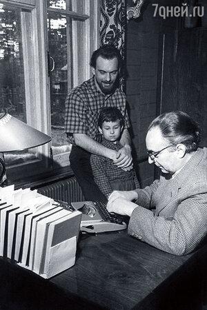 Дмитрий Светозаров, Иосиф Хейфиц и Алексей Баталов