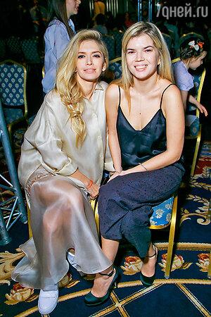 Вера Брежнева с сестрой Викой