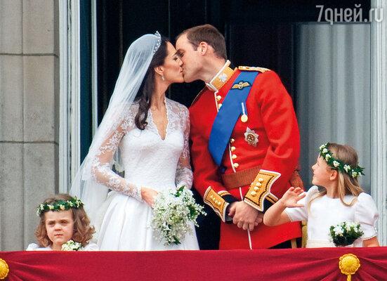 Свадьба принца Уильма и Кейт Миддлтон. 29 апреля 2011 года