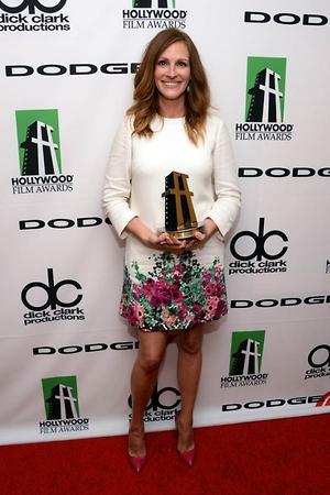 Джулия Робертс на мероприятии Hollywood Film Awards, 2013 год