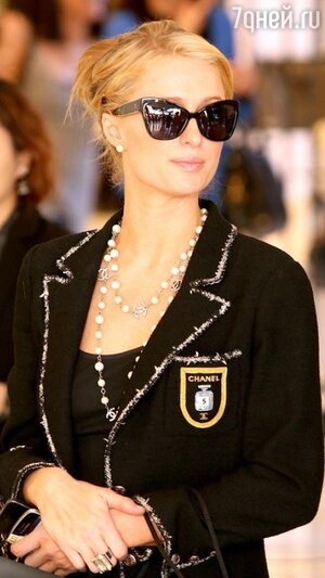 Пэрис Хилтон в Chanel