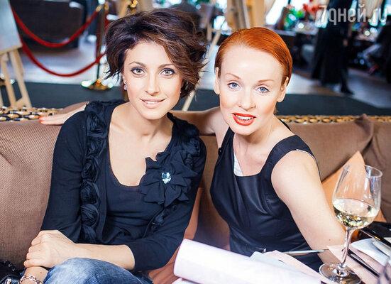 Анастасия Макеева и Жанна Эппле