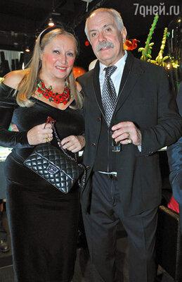 Татьяна и  Никита Михалковы