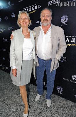 Владимир Хотиненко с супругой Татьяной Яковлевой