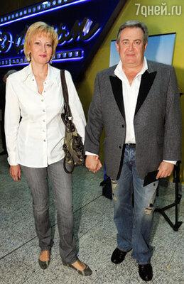 Юрий Стоянов  с женой