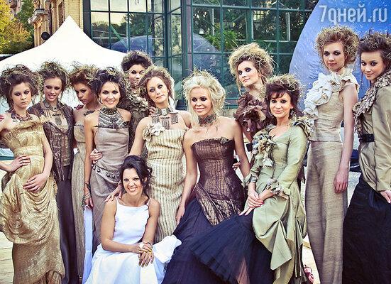 Алиса Толкачева с моделями