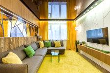 Идеи для дизайна: гостиная в стиле «Зазеркалье»