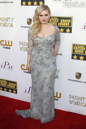 Эбигейл  Бреслин (Abigail Breslin) в Vintage Badgley Mischka