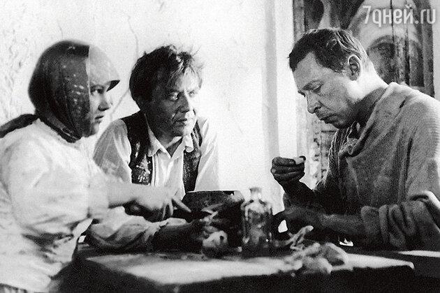 Елена Проклова с Олегом Табаковым и Олегом Ефремовым. 1969 г.