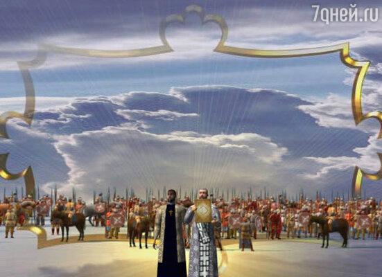 Кадр из анимационного сериала