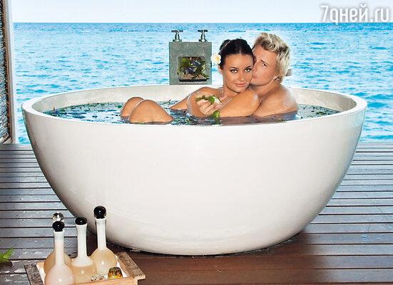 «В отпуске мы не звезды, а просто влюбленные мужчина и женщина...»