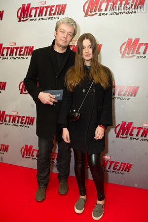 Александр Стриженов с дочкой