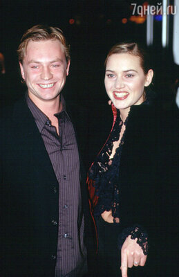Кейт Уинслет с первым мужем Джимом Триплтоном