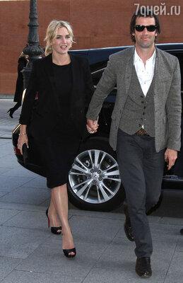 Кейт Уинслет с третьим мужем Недом Рокнроллом