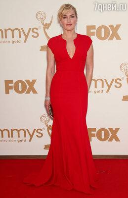 Кейт Уинслет на церемонии вручения премий «Эмми» в 2011 году