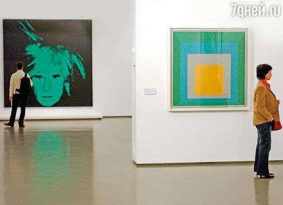 Выставка работ Энди Уорхола
