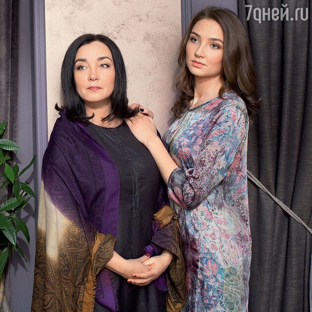 Татьяна Бучкина с дочерью Дарьей