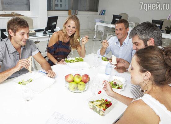 Диета офисного работника сбалансирована таким образом, чтобы компенсировать затраты организма в условиях офиса