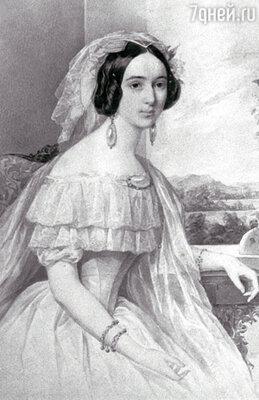 Александра Осиповна Смирнова-Россет в 1844 г.