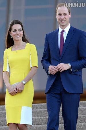 Принц Уильям и Кейт Миддлтон в Сиднее