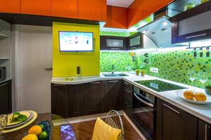 Идеи для дизайна: кухня в стиле «Рио»