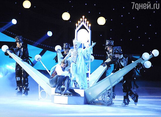 Премьера ледового шоу «Снежная королева»
