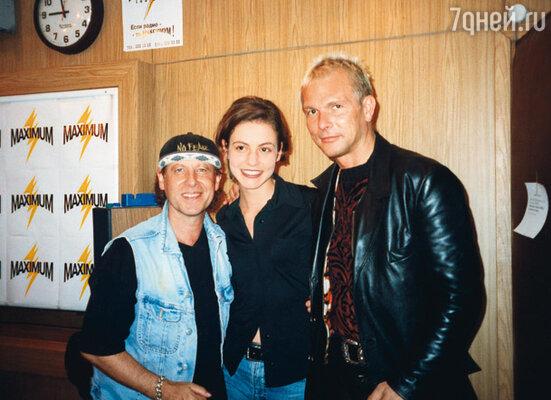 В то время я, по Ваниным словам, была недоступной звездой. (Таня с группой «Scorpions»)