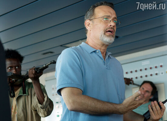 Том Хэнкс в новом фильме «Капитан Филлипс», который наднях получил 6номинаций на «Оскар». 2013 год
