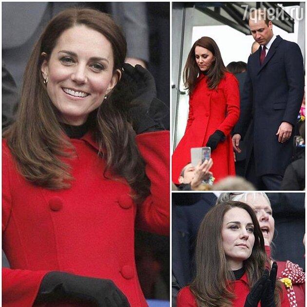 В этом пальто герцогиню Кейт уже видели во время ее визита в Канаду