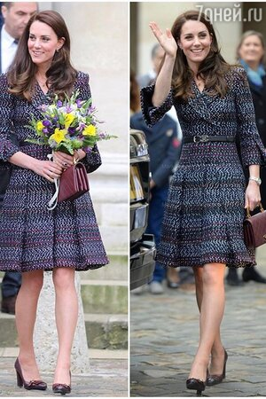 Самый французский образ герцогини Кейт