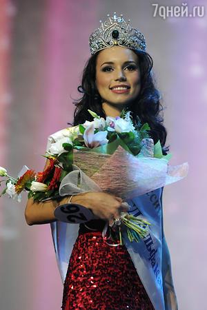 Элина Киреева, «Краса России 2012»