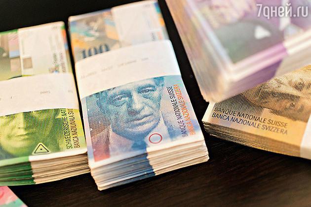 Портрет Альберто Джакометти на 100-франковых швейцарских банкнотах
