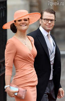 Принцесса Виктория и принц Даниэль