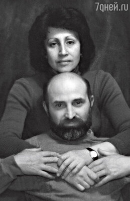 С мужем. 1989 г.