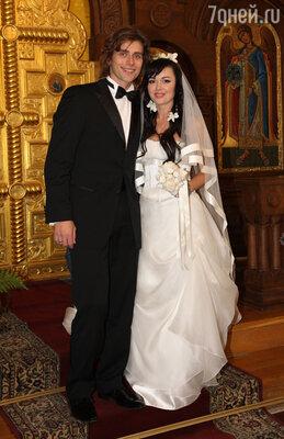 Венчание Анастасии Заворотнюк и Петра Чернышева.  2008 год