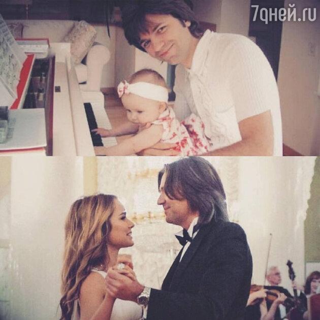 Дмитрий Маликов с дочкой Стефанией