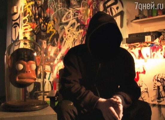 Кадр фильма «Выход через сувенирную лавку»