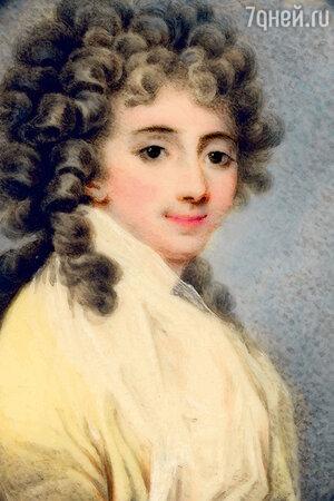 Фото репродукции портрета Софии Потоцкой работы Йозефа Лески