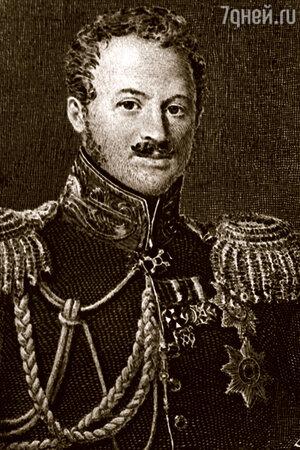 Фото репродукции портрета генерала Павла Дмитриевича Киселева