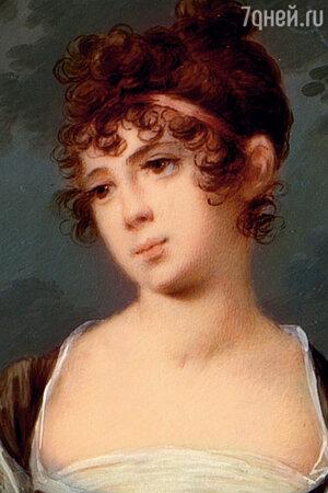 Фото репродукции портрета Ольги Станиславовны Нарышкиной работы Александра Молинари