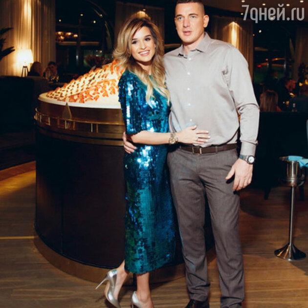 Ксения Бородина с мужем — Курбаном Омаровым