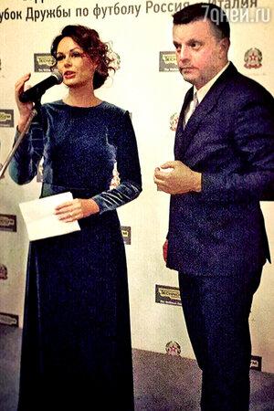 Ирина Безрукова и Леонид Парфенов