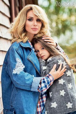 Светлана Лобода с дочкой Евой